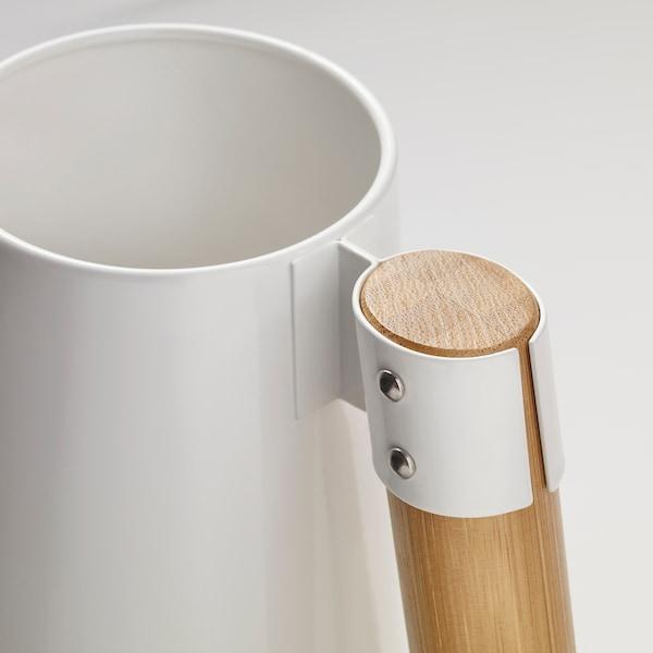 BITTERGURKA watering can white 30 cm 2 l