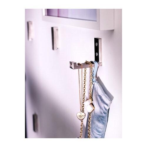 Ikea Hook bjÄrnum folding hook aluminium 8 cm - ikea