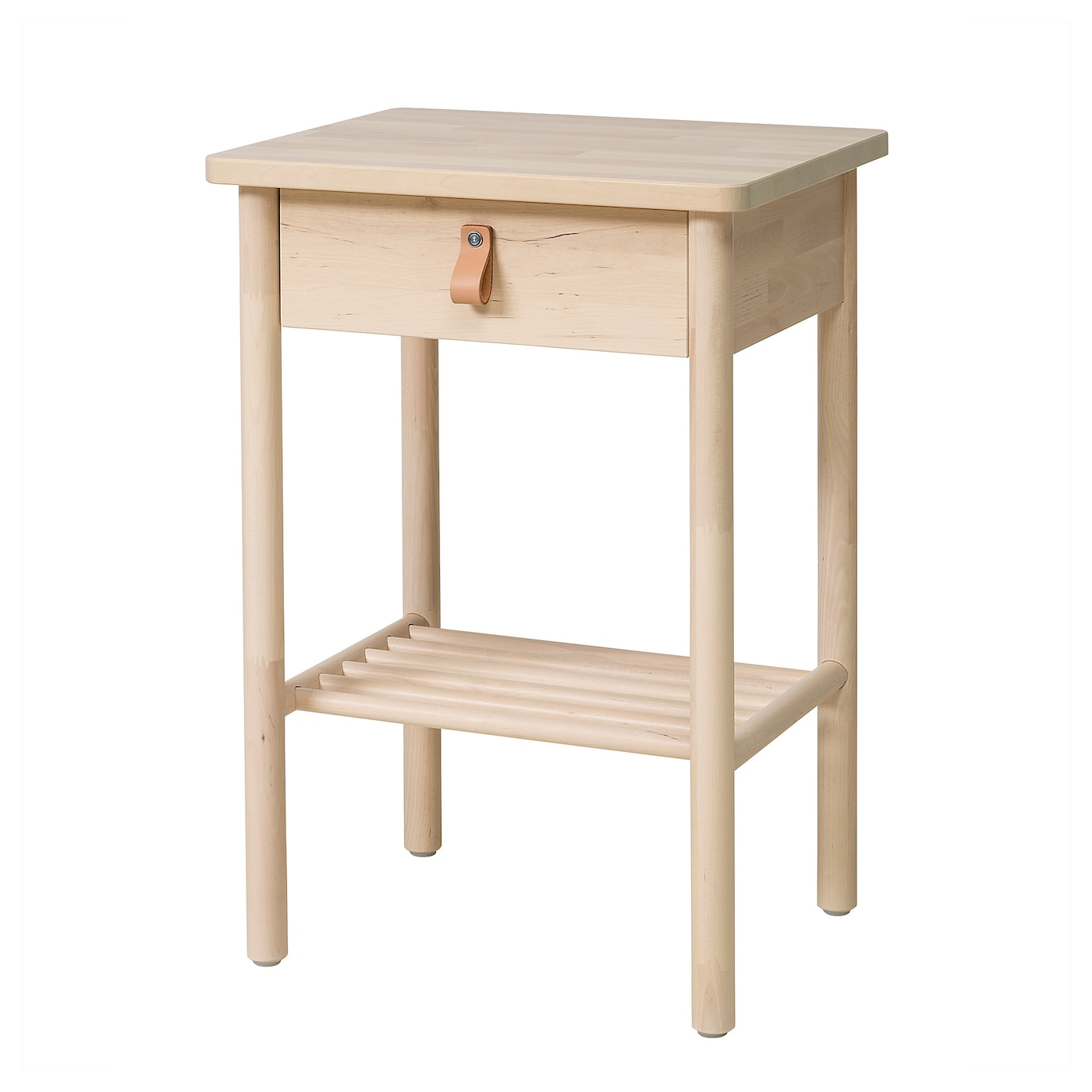 Genial IKEA BJÖRKSNÄS Bedside Table Smooth Running Drawer With Pull Out Stop.