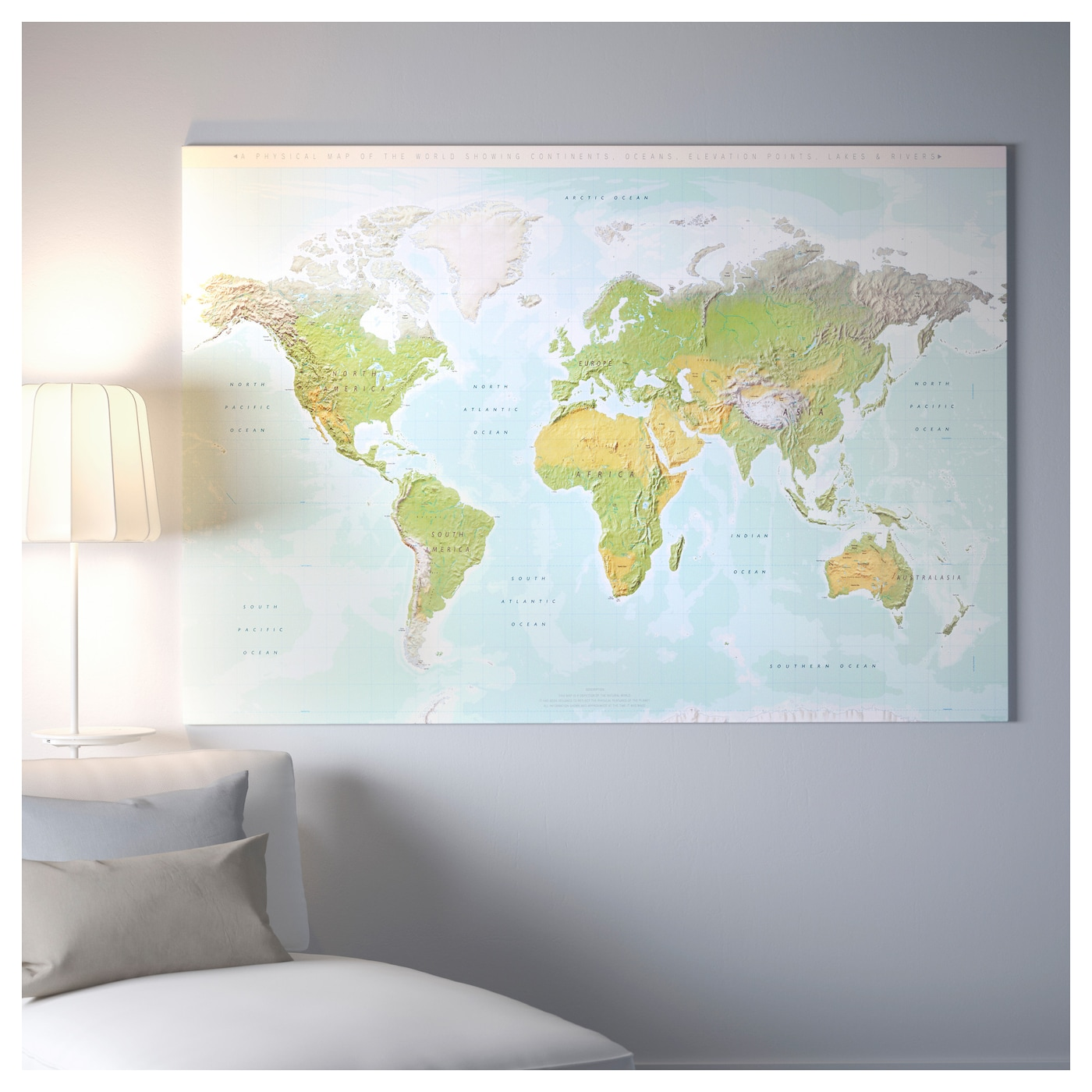 Bjrksta picture with frame planet earthblack 200x140 cm ikea ikea bjrksta picture with frame the picture and frame come in separate packages gumiabroncs Images