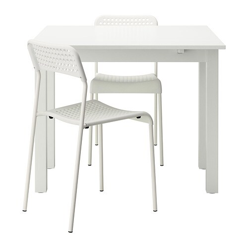 BJURSTA ADDE Table And 2 Chairs IKEA