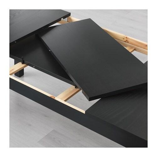 ikea bjursta dining table brown black images