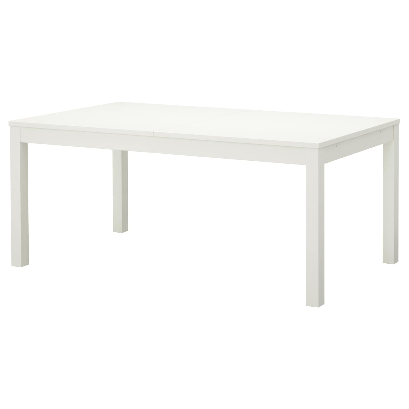 BJURSTA Extendable table White 175218260x95 cm IKEA