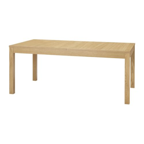bjursta extendable table ikea 2 extension leaves included it s