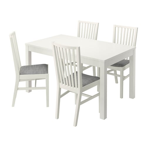 IKEA BJURSTA/NORRNÄS table and 4 chairs