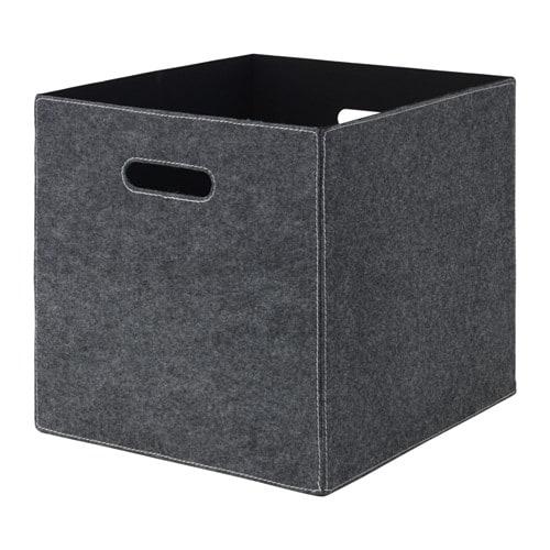 BL196DDRA Box Grey 33x38x33 cm IKEA : blddra box grey0469631pe612302s4 from www.ikea.com size 500 x 500 jpeg 49kB