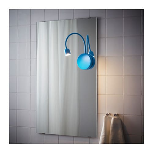 Led Wall Lamp Ikea: BLÅVIK LED Wall Lamp Battery-operated Blue