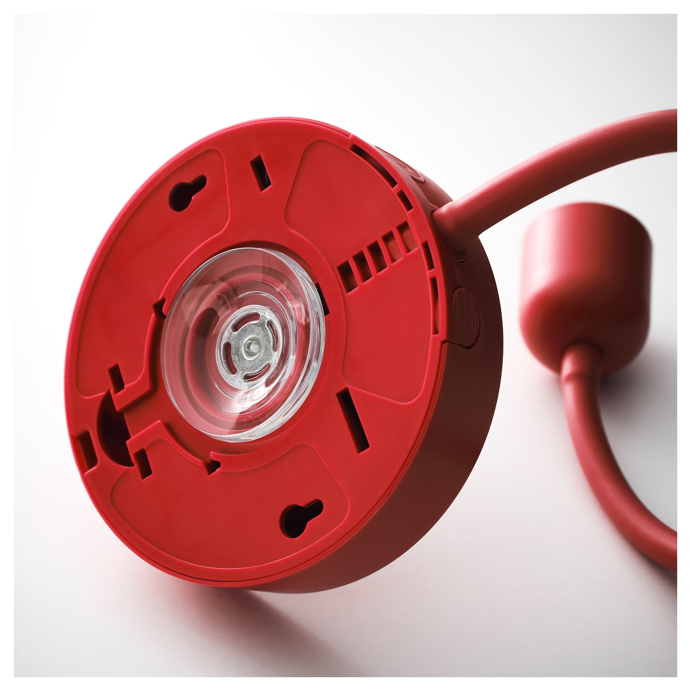 Bl Vik Led Wall Lamp Battery Operated Red Ikea