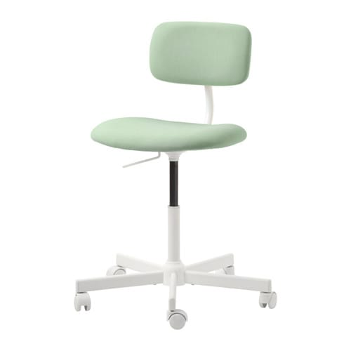 Bleckberget Swivel Chair Idekulla Light Green Ikea