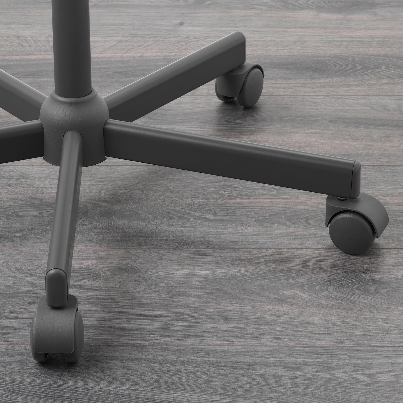 Idekulla dark grey, Swivel chair IKEA