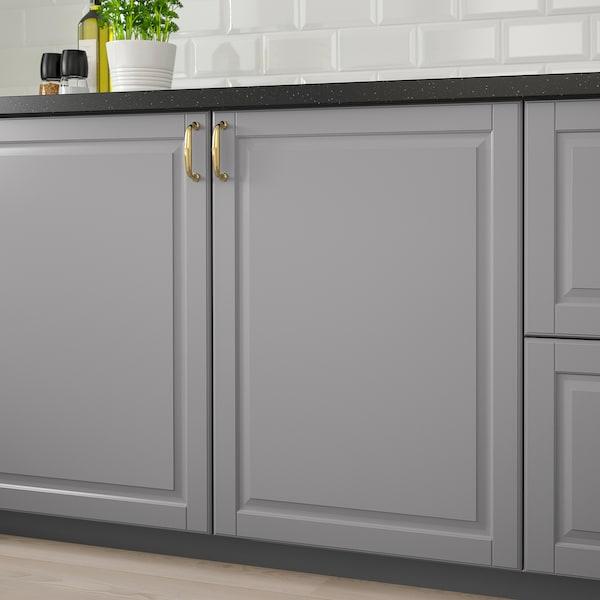 BODBYN Door, grey, 20x80 cm