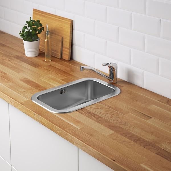 IKEA BOHOLMEN Inset sink, 1 bowl