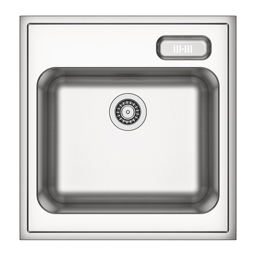 BOHOLMEN Single bowl sink IKEA 25 year guarantee.   Read about the terms in the guarantee brochure.