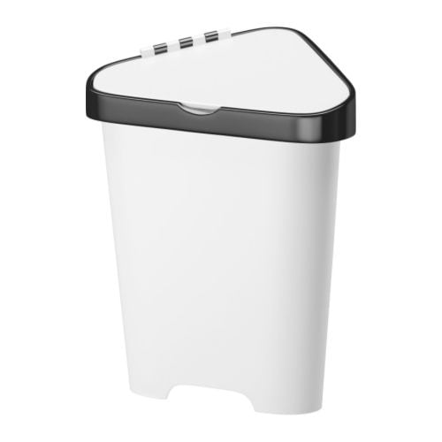 BOLMEN Waste bin with lid IKEA