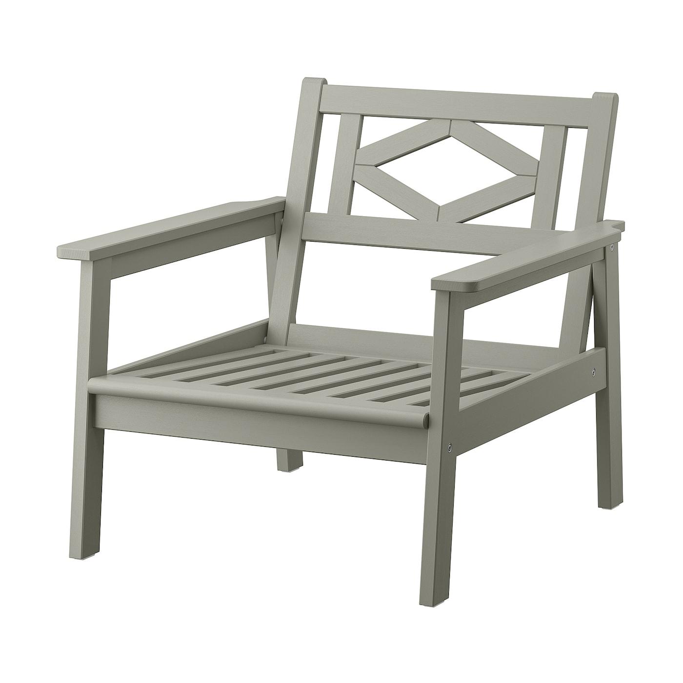 BONDHOLMEN Armchair, outdoor - grey