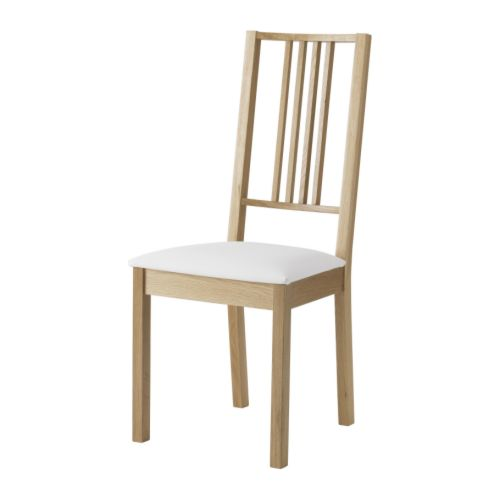 BÖRJE Chair IKEA Removable cover; easy to put on and take off.  Machine washable cover; easy to keep clean.  Padded seat for enhanced seating comfort.