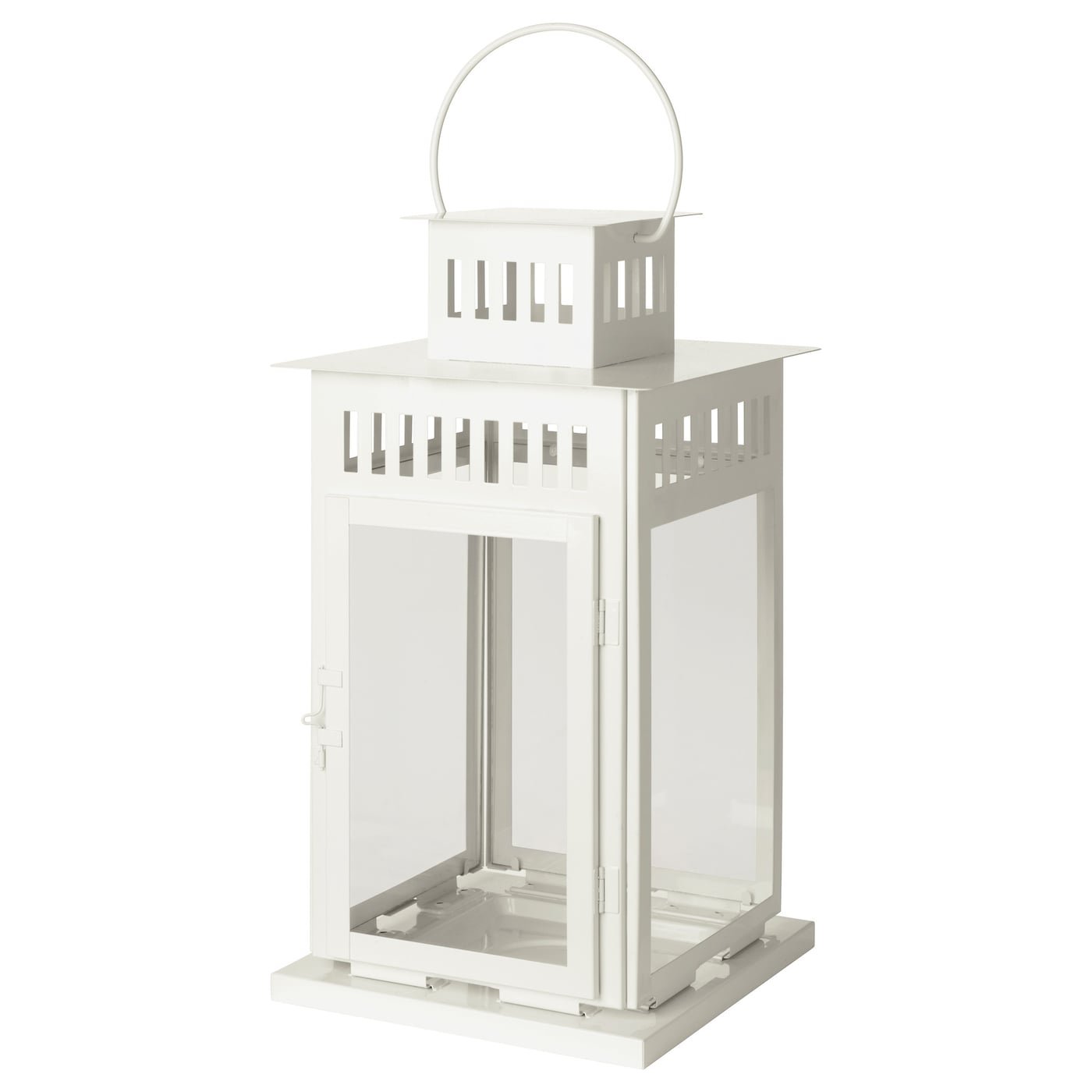IKEA BORRBY lantern for block candle Suitable for both indoor and outdoor use.