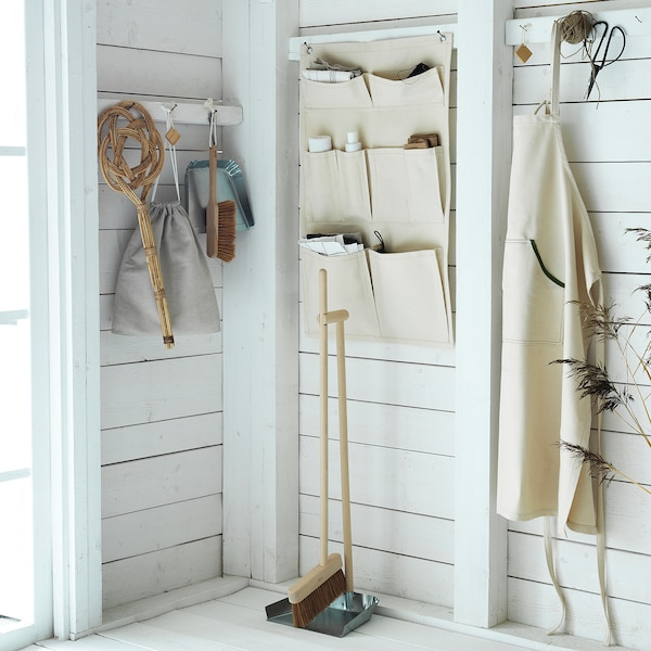BORSTAD hanging organiser for accessories 80 cm 50 cm
