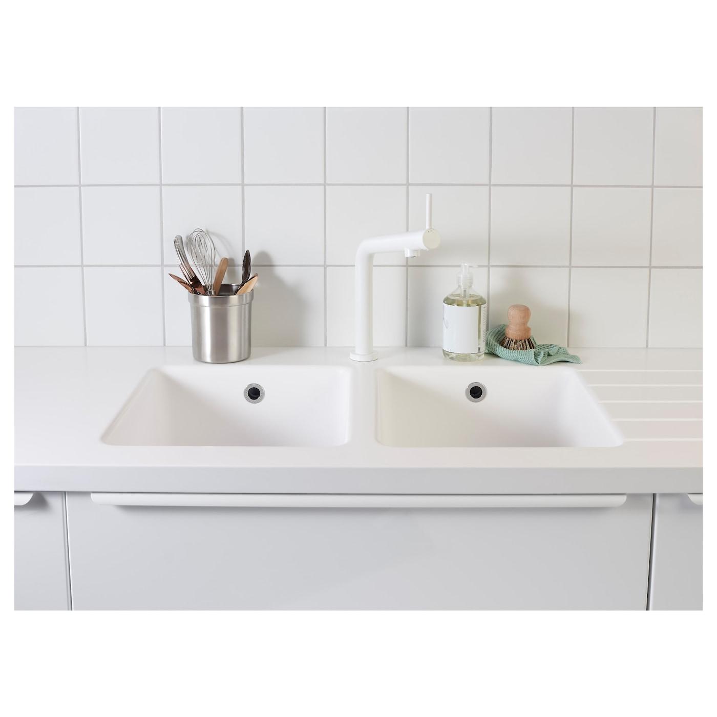 Bosjon Kitchen Mixer Tap White Ikea
