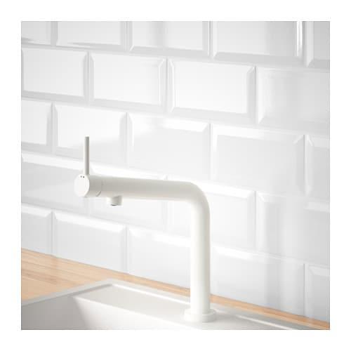 White Kitchen Mixer Tap