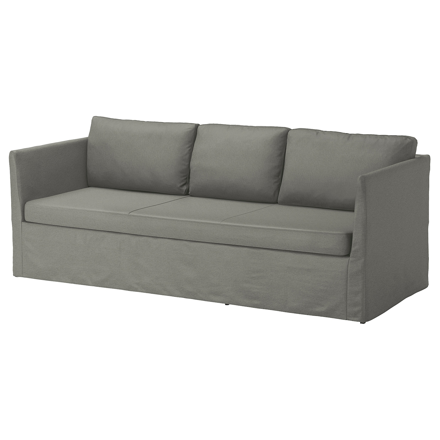IKEA BRÅTHULT 3-seat sofa You sit comfortably thanks to the resilient foam and springy seat.