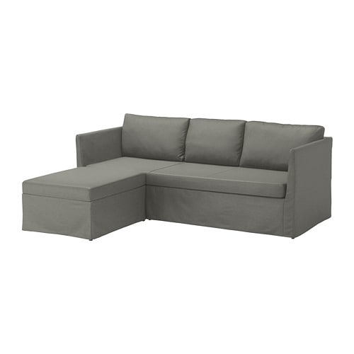 Br 197 Thult Corner Sofa Bed Borred Grey Green Ikea