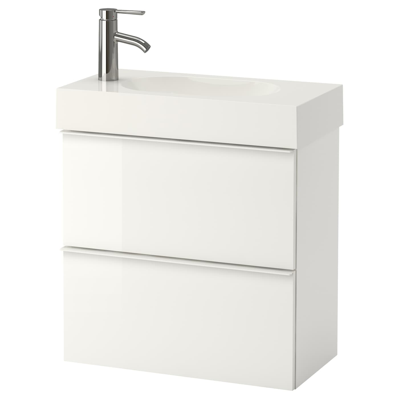 IKEA BRÅVIKEN/GODMORGON wash-stand with 2 drawers