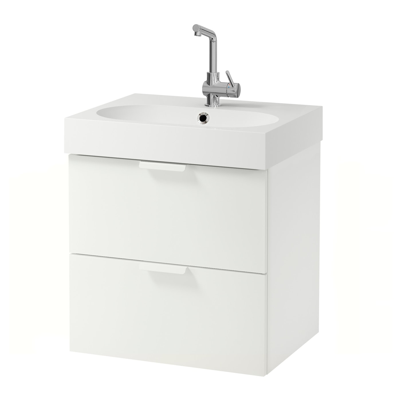 Ikea Br Viken Godmorgon Wash Stand With 2 Drawers