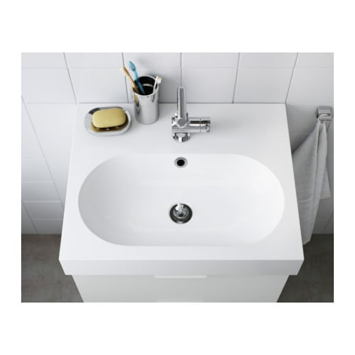 IKEA BRÅVIKEN Single Wash Basin 10 Year Guarantee. Read About The Terms In  The