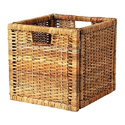 Storage boxes storage baskets ikea - Panier osier rangement ikea ...