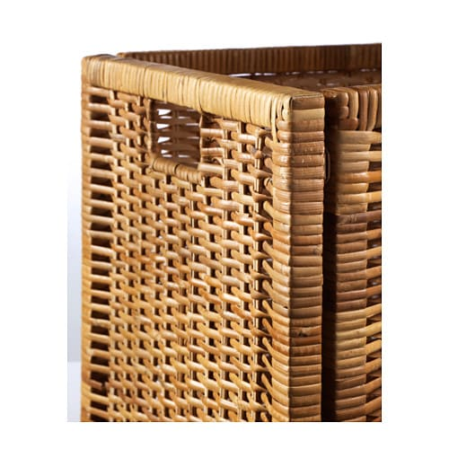 bran s basket rattan 32x34x32 cm ikea. Black Bedroom Furniture Sets. Home Design Ideas