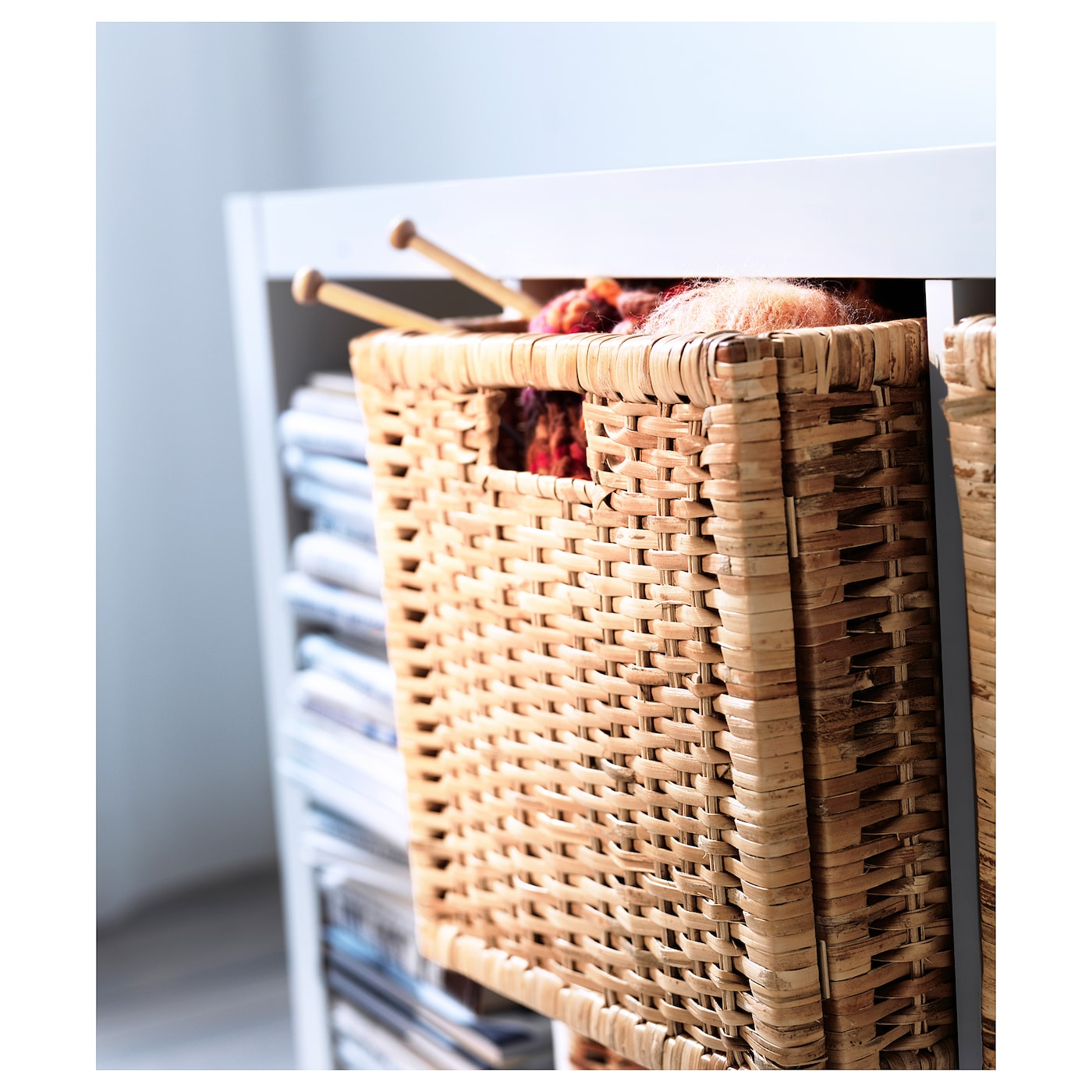 IKEA BRANÄS basket Perfect for newspapers, photos or other memorabilia.