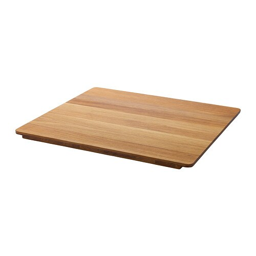 BREDSKÄR Chopping board IKEA The wood surface is durable yet also gentle on your knives.