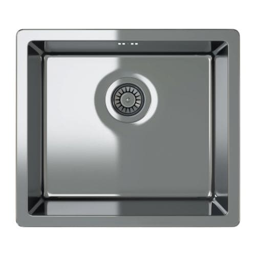 BREDSKÄR Single-bowl inset sink IKEA 25 year guarantee.   Read about the terms in the guarantee brochure.