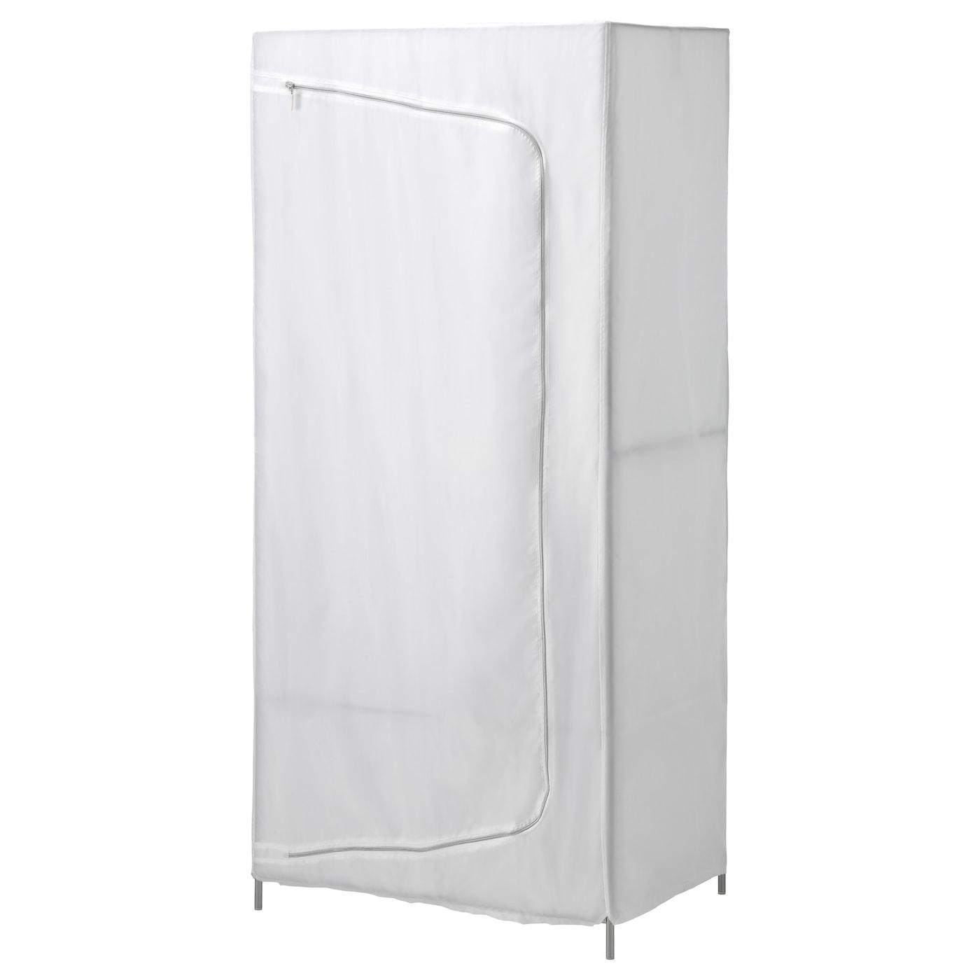 Breim Wardrobe White 80x55x180 Cm Ikea