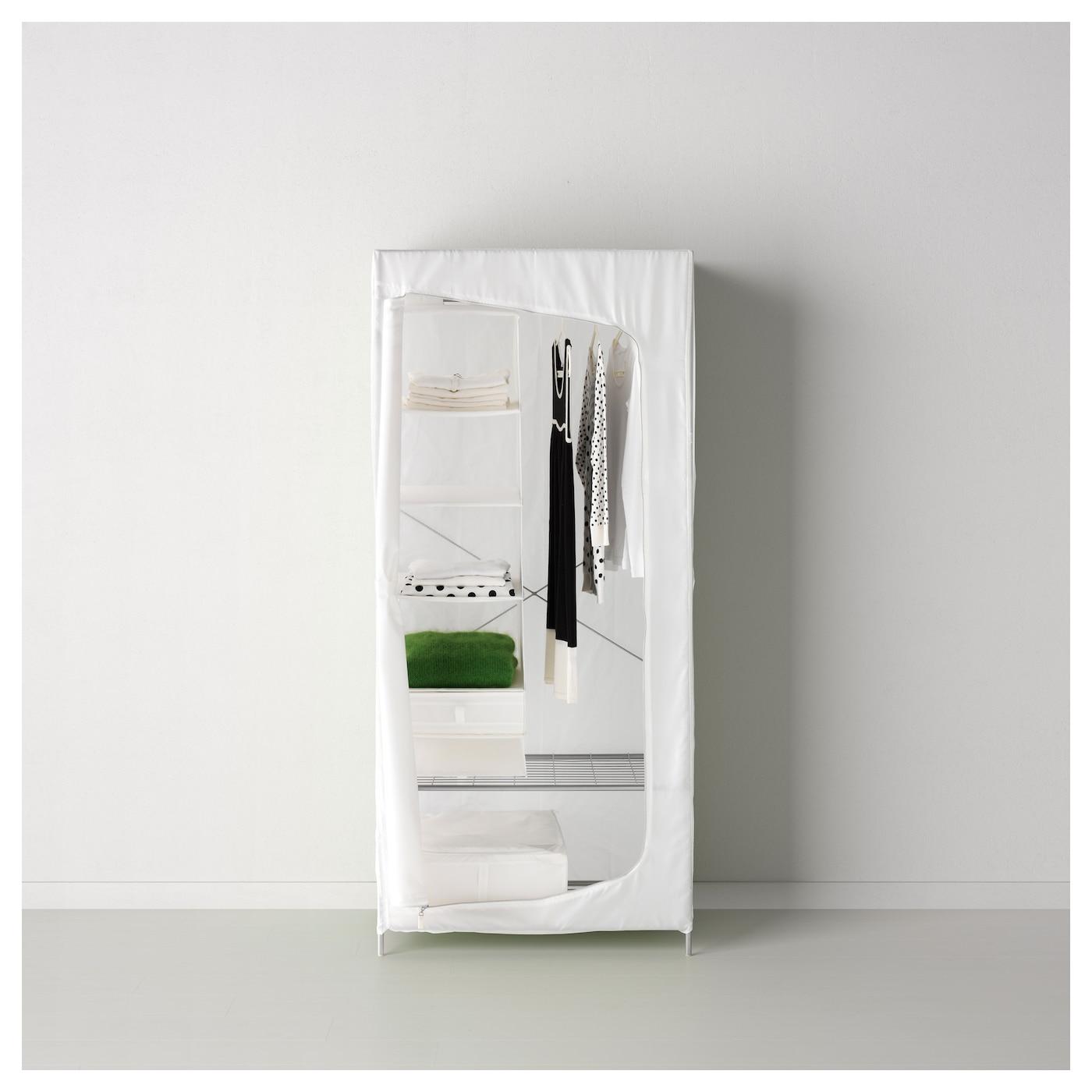Artesanato Nordeste Atacado ~ BREIM Wardrobe White 80x55x180 cm IKEA