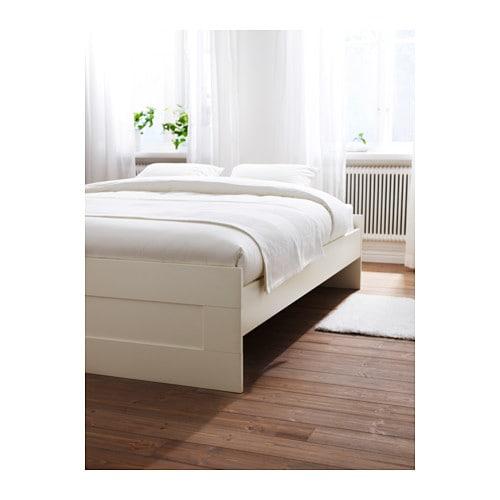 ikea brimnes bed. Brimnes Bed Frame White Lönset 180x200 Cm Ikea