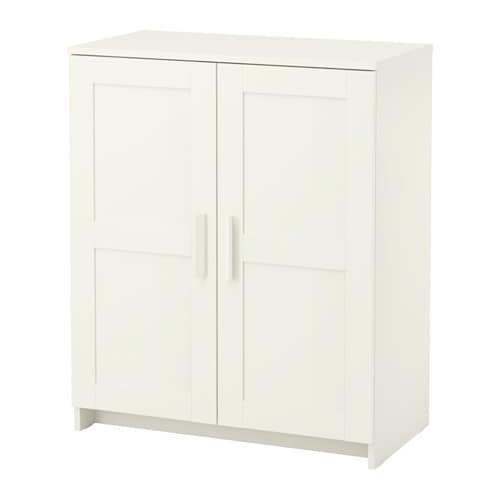 White Cabinet Furniture. IKEA BRIMNES Cabinet With Doors Adjustable Shelves  So You Can Customise Your Part 82