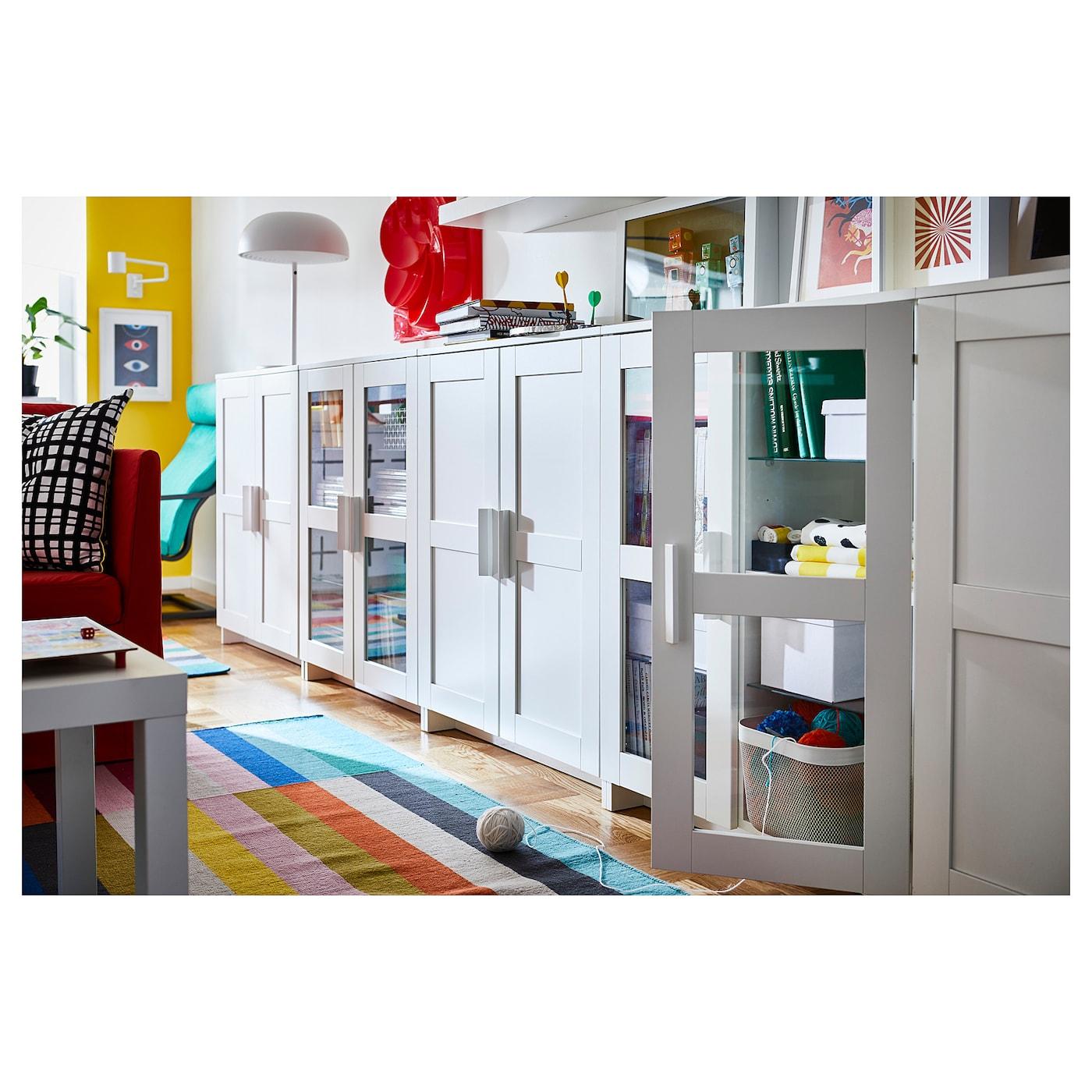 brimnes cabinet with doors white 78 x 95 cm ikea. Black Bedroom Furniture Sets. Home Design Ideas