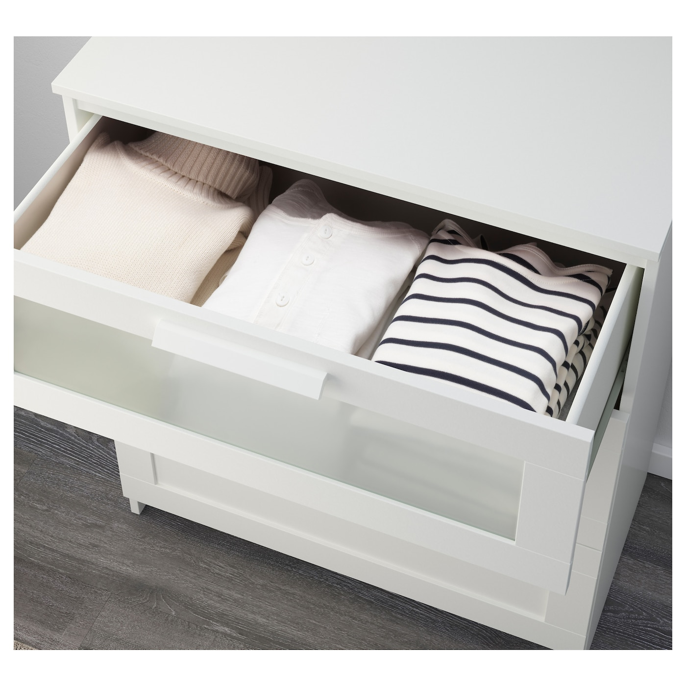 #726359 BRIMNES Chest Of 3 Drawers White/frosted Glass 78x95 Cm IKEA with 2000x2000 px of Brand New Ikea 3 Drawer Dresser White 20002000 pic @ avoidforclosure.info