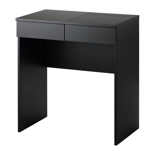 Brimnes dressing table black 70x42 cm ikea - Accessoire dressing ikea ...