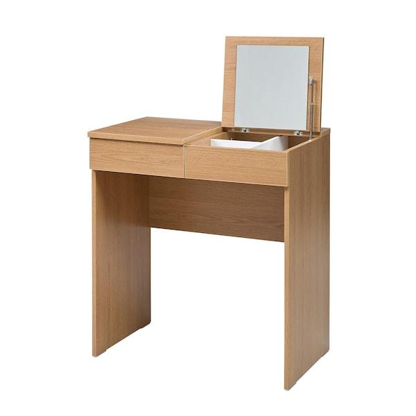 BRIMNES Dressing table, oak effect, 70x42 cm
