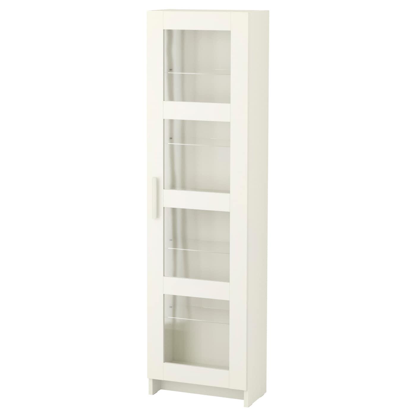 brimnes glass door cabinet white 39 x 142 cm ikea. Black Bedroom Furniture Sets. Home Design Ideas