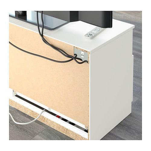 BRIMNES TV bench White 120×53 cm IKEA