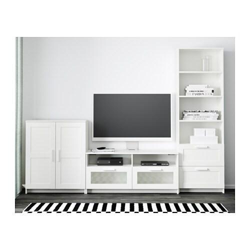 brimnes tv storage combination white 260x41x190 cm ikea. Black Bedroom Furniture Sets. Home Design Ideas