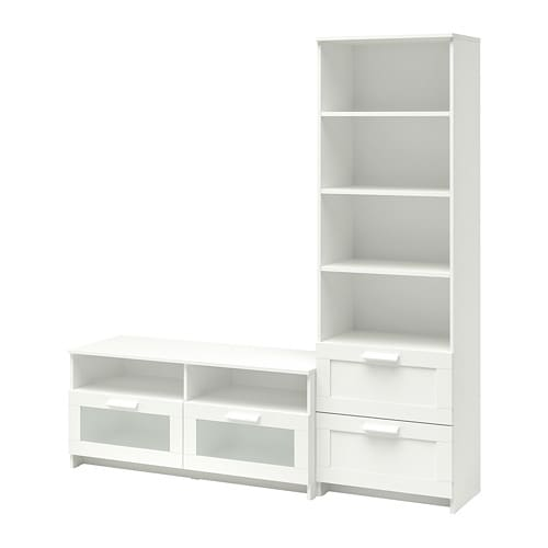 Ikea Brimnes Tv Storage Combination Adjule Shelves So You Can Customise Your As Needed