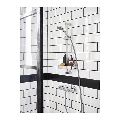 aluminum dp holder com adhesive shower storage tiers amazon corner basket shampoo durable bathroom kitchen shelf deekec