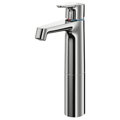 BROGRUND wash-basin mixer tap, tall chrome-plated 28 cm