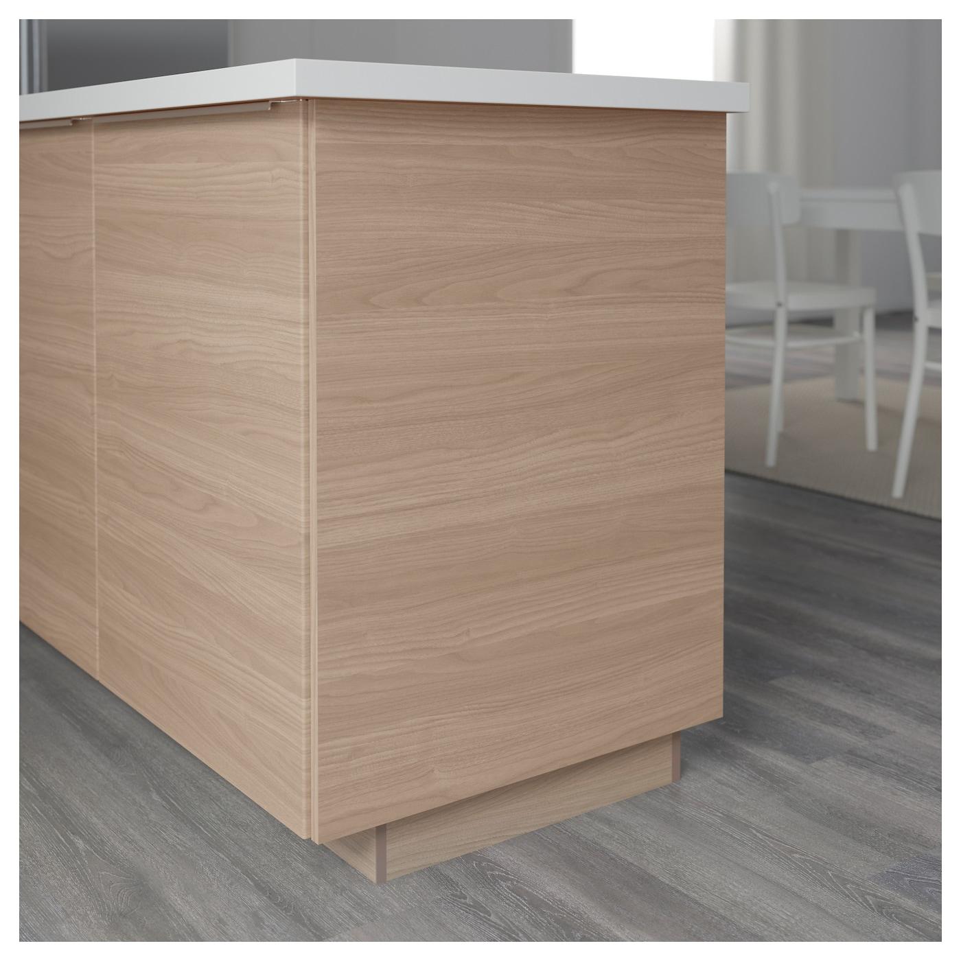 brokhult cover panel walnut effect light grey 39x106 cm ikea. Black Bedroom Furniture Sets. Home Design Ideas