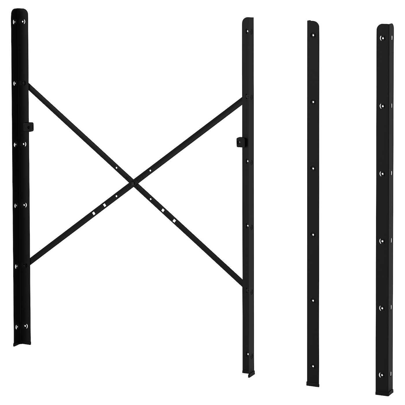 IKEA BROR post Can be used in damp areas indoors.